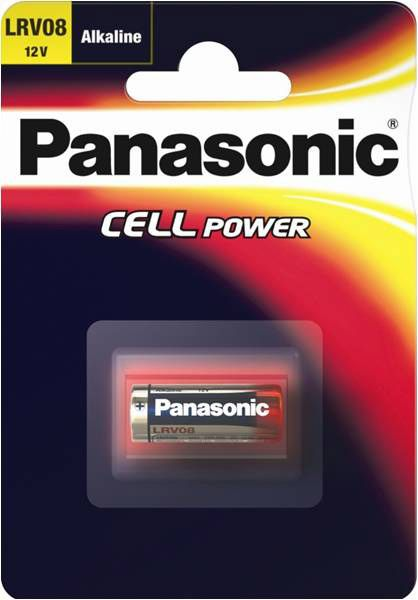 Panasonic Car Alarm Battery Small 12 Volt Single Card 1