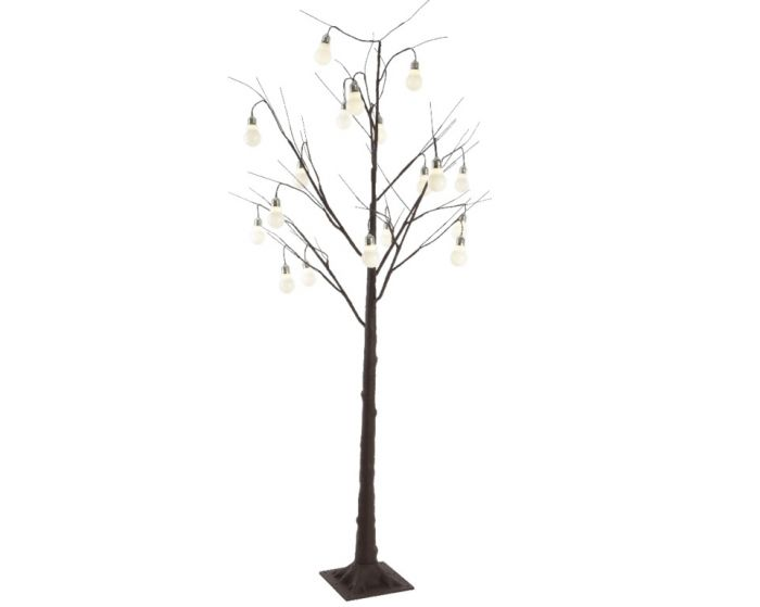 Led Tree Brown & Warm White