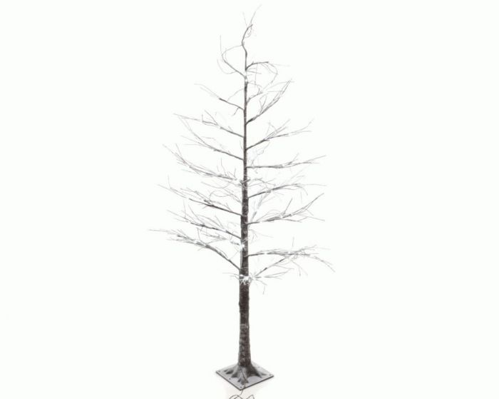 Led Tree With Snow