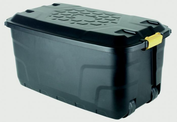 Strata Heavy Duty Storage Box And Lid 145L