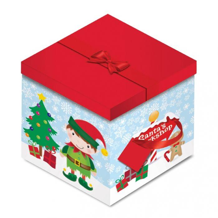 Elf Square Flat Box