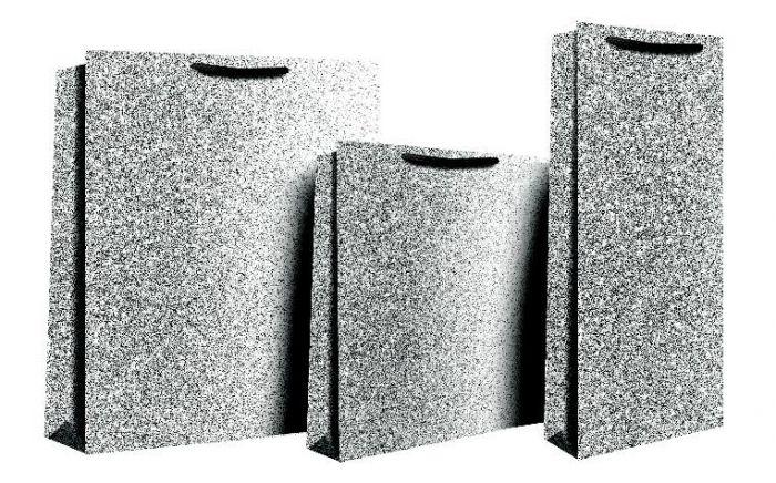 Black Glimmer Medium Bag