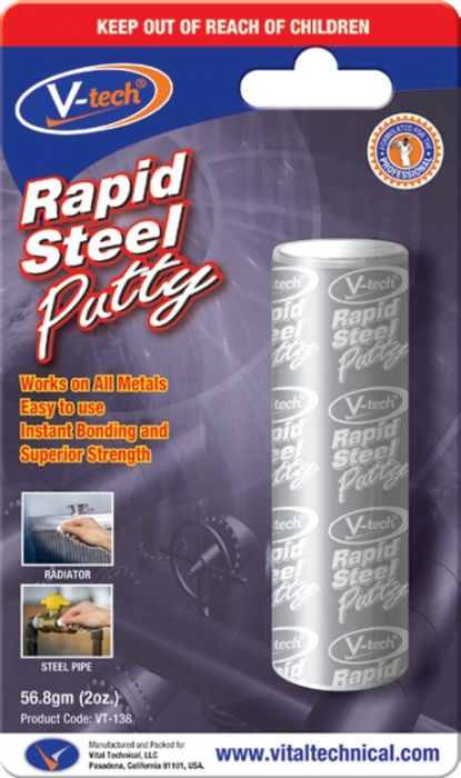 Streetwize Rapid Steel Epoxy Adhesive 56.8Gm