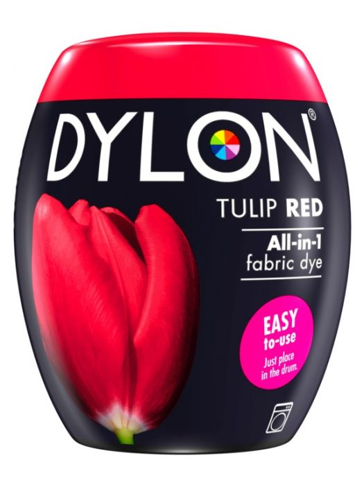 Dylon Machine Dye Pod 36 Tulip Red