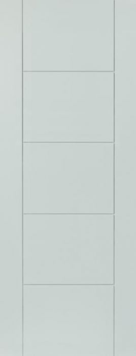 Jb Kind Tigres White Pre-Finished Internal Door 762Mm