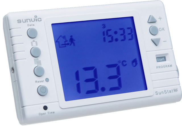 Sunvic Wireless Programmable Room Thermostat