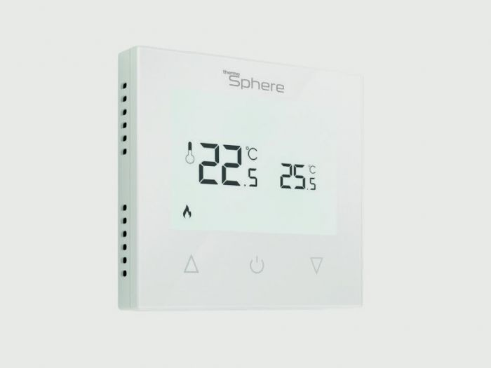 Thermosphere Manual Thermostat White 16A