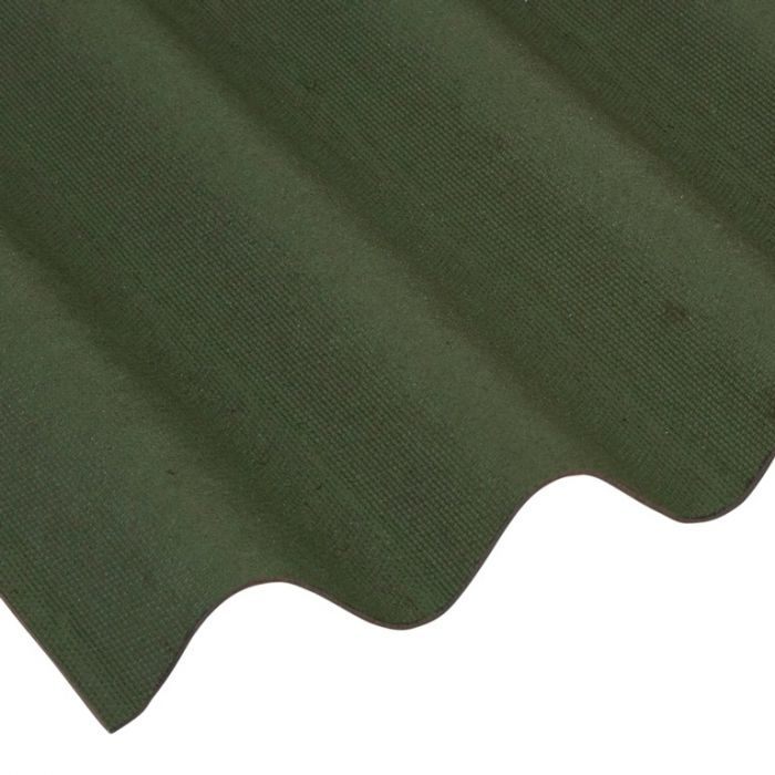 Ariel Coroline Bitumen Sheet Green 950Mm X 2000Mm