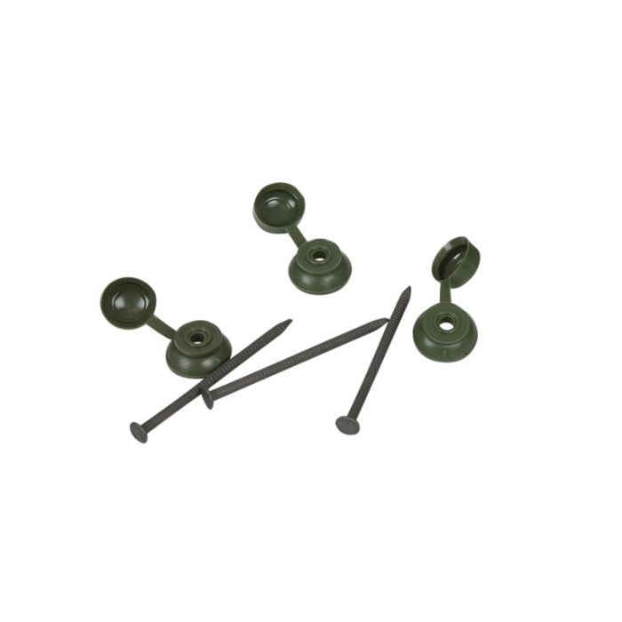 Ariel Coroline Fixings Pack Of 20 Green