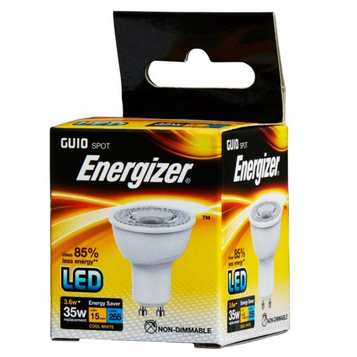 Energizer Led Gu10 3.6W Gu10 Boxed