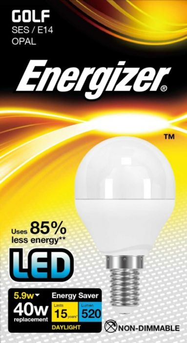 Energizer Led Golf 5.9W E14 Boxed