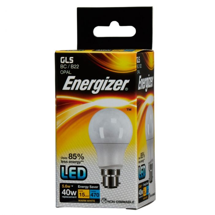 Energizer Led Gls 5.6W B22 Boxed