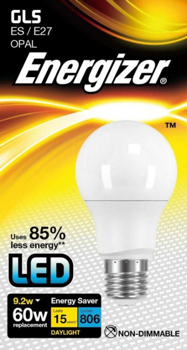 Energizer Led Gls 9.2W E27 Boxed