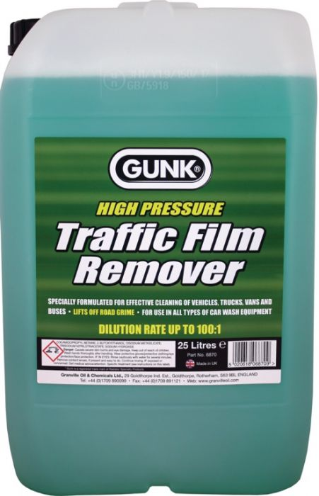 Gunk Traffic Film Remover 25L