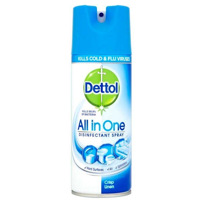 Dettol Disinfectant Spray 400Ml Crisp Linen