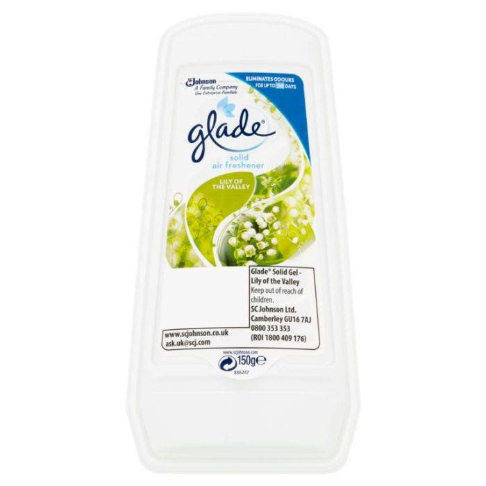 Glade Solid 150G Lily Of The Valley