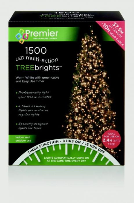 Multi-Action Treebrights With Timer Warm White