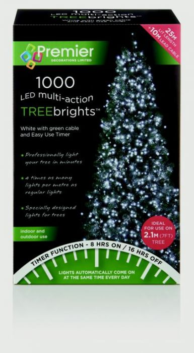 Multi-Action Treebrights With Timer White