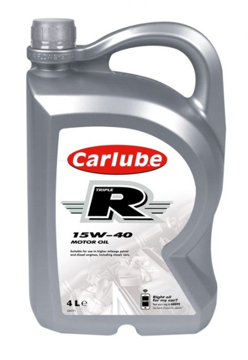 Carlube Triple R 15W-40 High Mile Mineral 4L