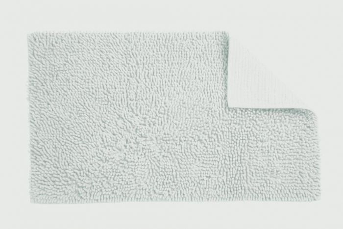 Croydex White Cotton Bathroom Mat Textile Bath Mats/White