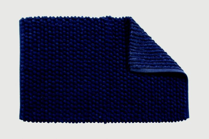 Croydex Navy Soft Cushioned Bath Mat Textile Bath Mats/Navy