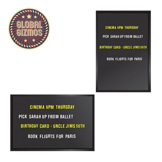 Global Gizmos Retro Peg Board