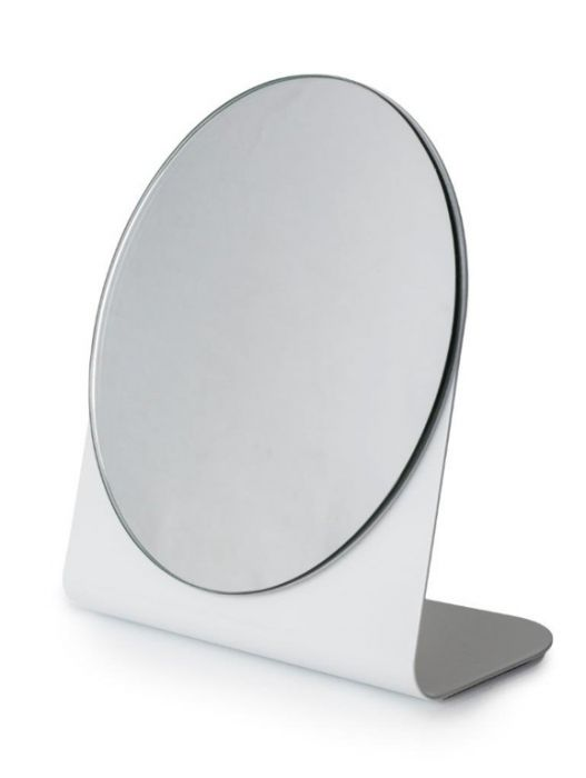 Blue Canyon Vanity Mirror Small White