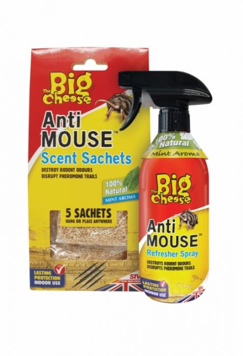 The Big Cheese Anti-Rodent Sachets 5 Pack