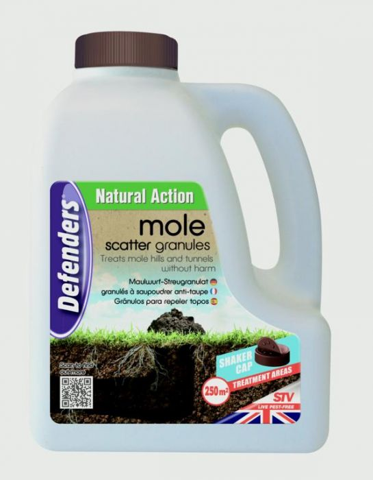 Defenders Mole Repellent Scatter Granules 2.5Kg