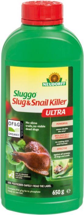 Sluggo Slug & Snail Killer Ultra 650G