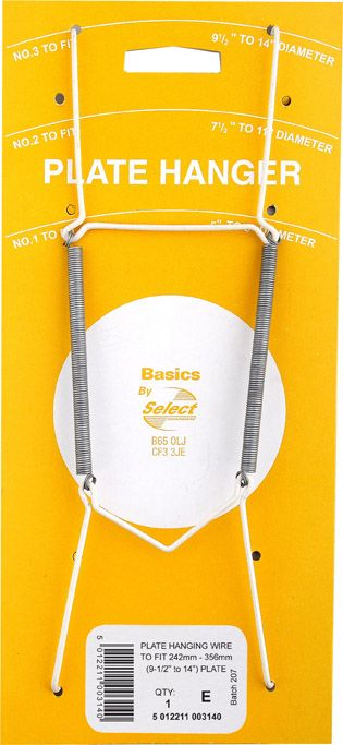 Basic Plate Hanger Wire 9 1/2 X 14 No. 3