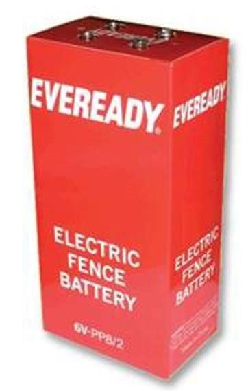 Energizer Electric Fence Battery Pp8b2 Silver
