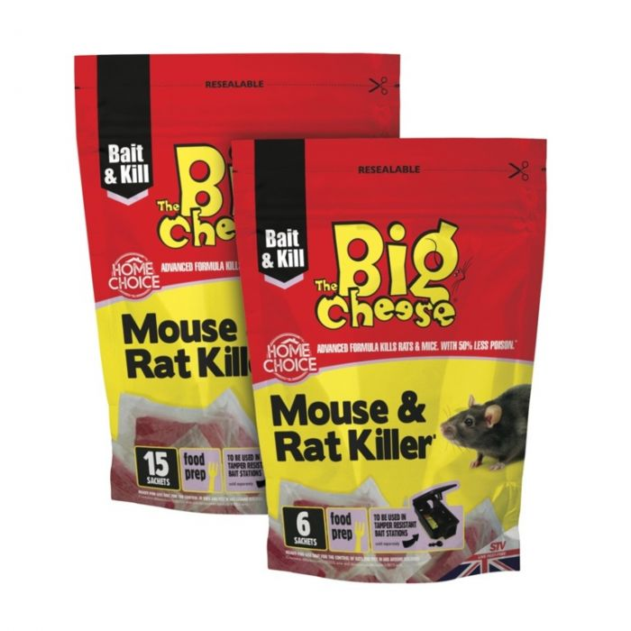 The Big Cheese Mouse & Rat Killer� 15 Pasta Sachets