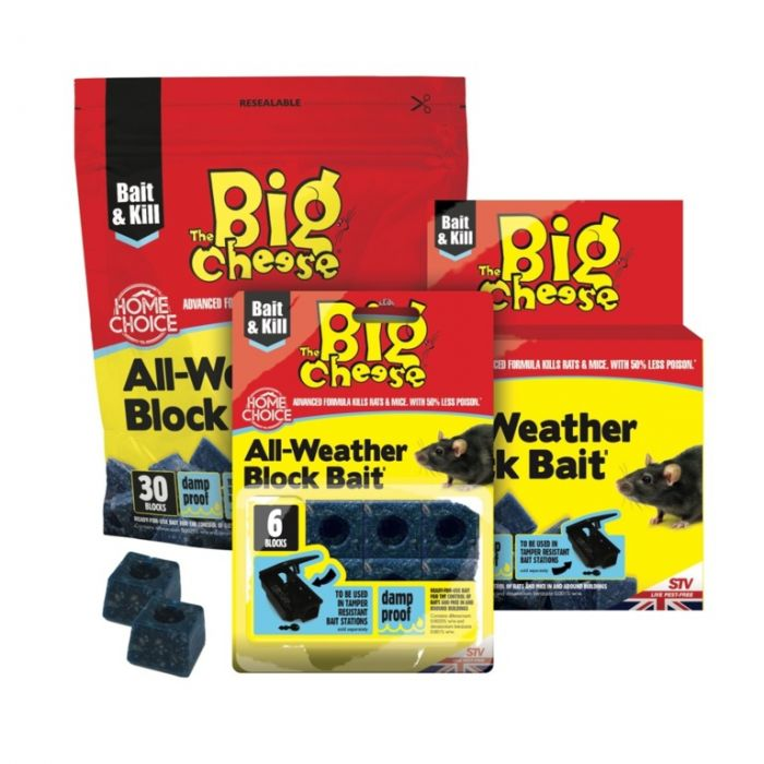 The Big Cheese All Weather Block Bait 6X10g