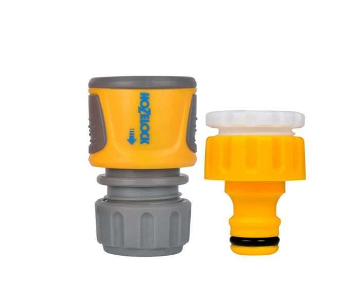 Hozelock Threaded Tap & Hose End Connector Soft Touch