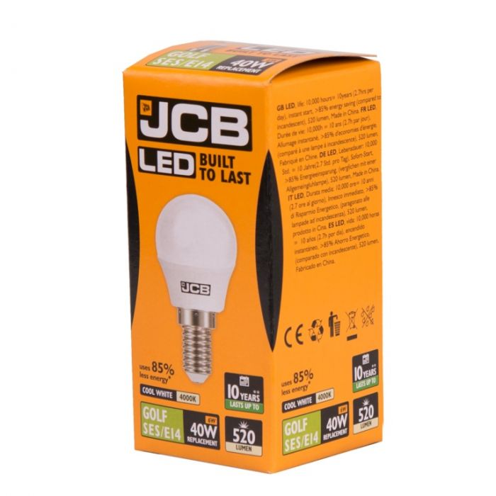 Jcb Led G45 6W E14 Boxed
