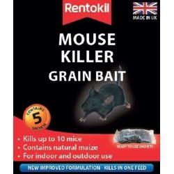 Rentokil Mouse Killer Grain Bait 5 Sachet