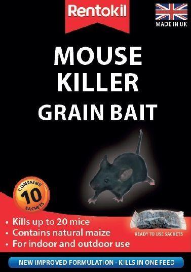 Rentokil Mouse Killer Grain Bait 10 Sachet