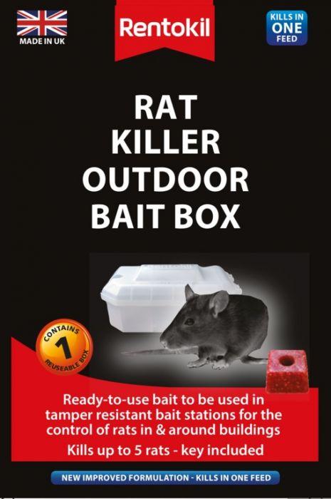 Rentokil Rat Killer Outdoor Bait Box