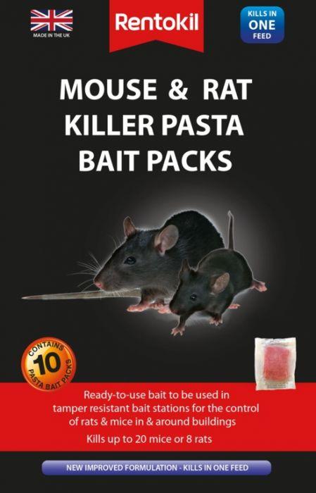 Rentokil Mouse & Rat Killer Pasta Bait 10 Sachet