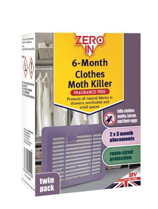 Zero In 6 Month Clothes Moth Killer