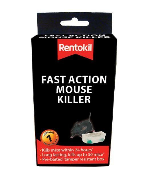 Rentokill Fast Action Mouse Killer Single