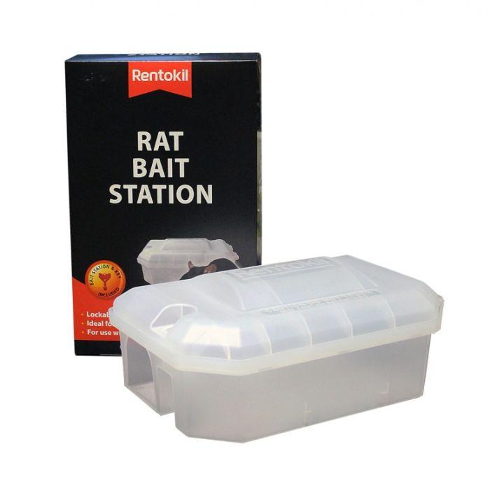 Rentokil Rat Bait Station Single