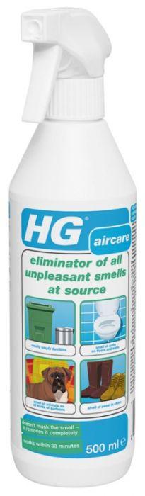 Hg Eliminator Of All Unpleasant Smells 500Ml