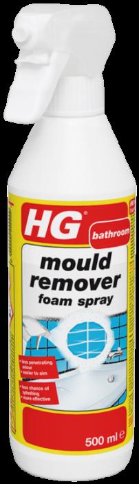 Hg Mould Remover Foam Spray 500Ml