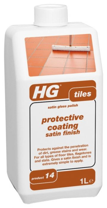 Hg Tile Protective Coating Satin Finish 1L