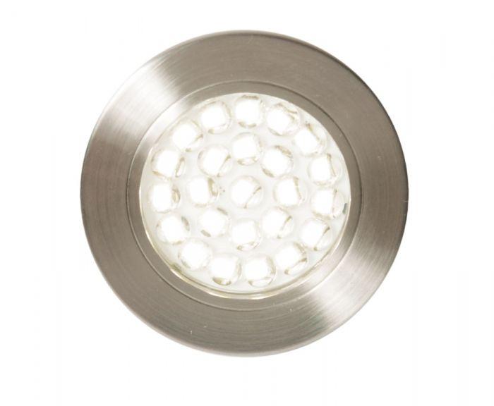 Culina Pozza Led Mains Voltage Circular Cabinet Light 3000K Warm White