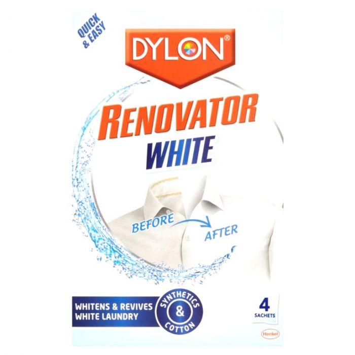 Dylon Renovator White 4 Sachet