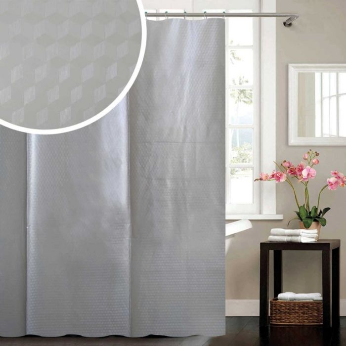 Cube Peva Shower Curtain