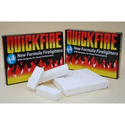 Quickfire Firelighters Pack Of 14